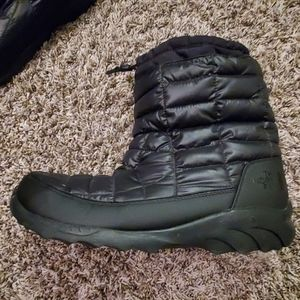 The North Face quilted boots